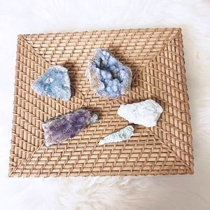 5pc. Assorted Crystals